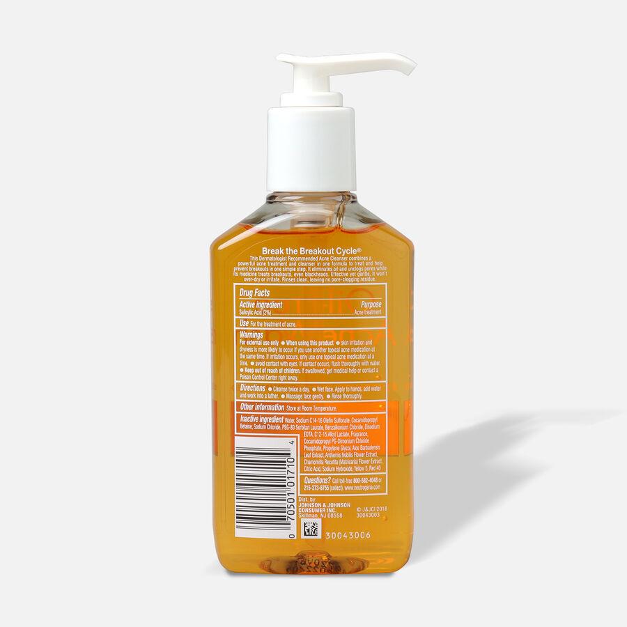 Neutrogena Oil-Free Acne Wash with Salicylic Acid, 6oz., , large image number 1