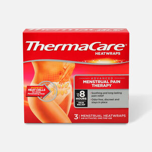 Thermacare Heat Wrap Menstrual 8HR, 3 ct