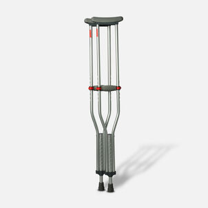 Medline Red Dot Button Crutches - 1 Pair
