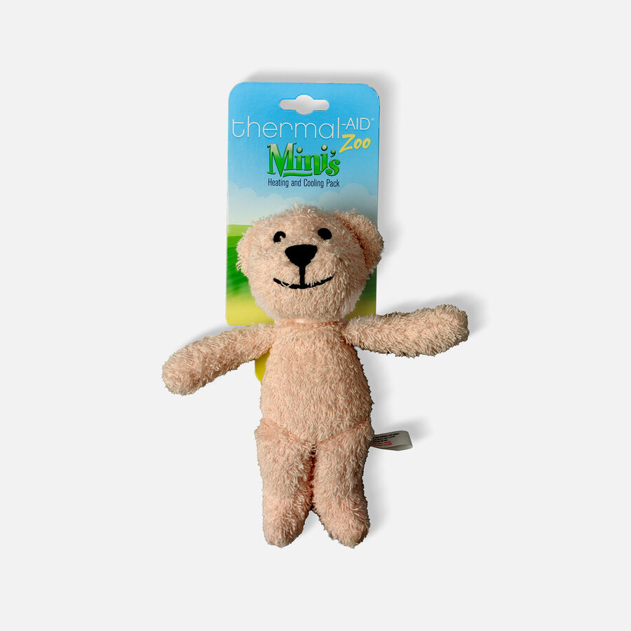 Thermal-Aid Mini Zoo Pink Bear Hot and Cold Pack, , large image number 0