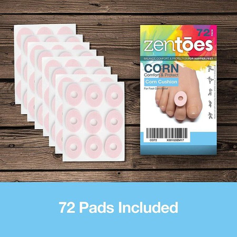 ZenToes Corn Cushions - 72 Pack, , large image number 7