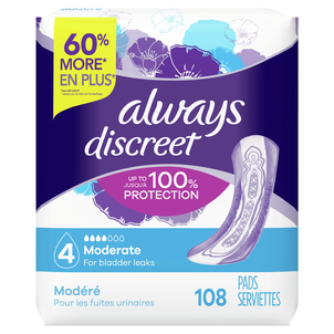Always Discreet Moderate Incontinence Pads