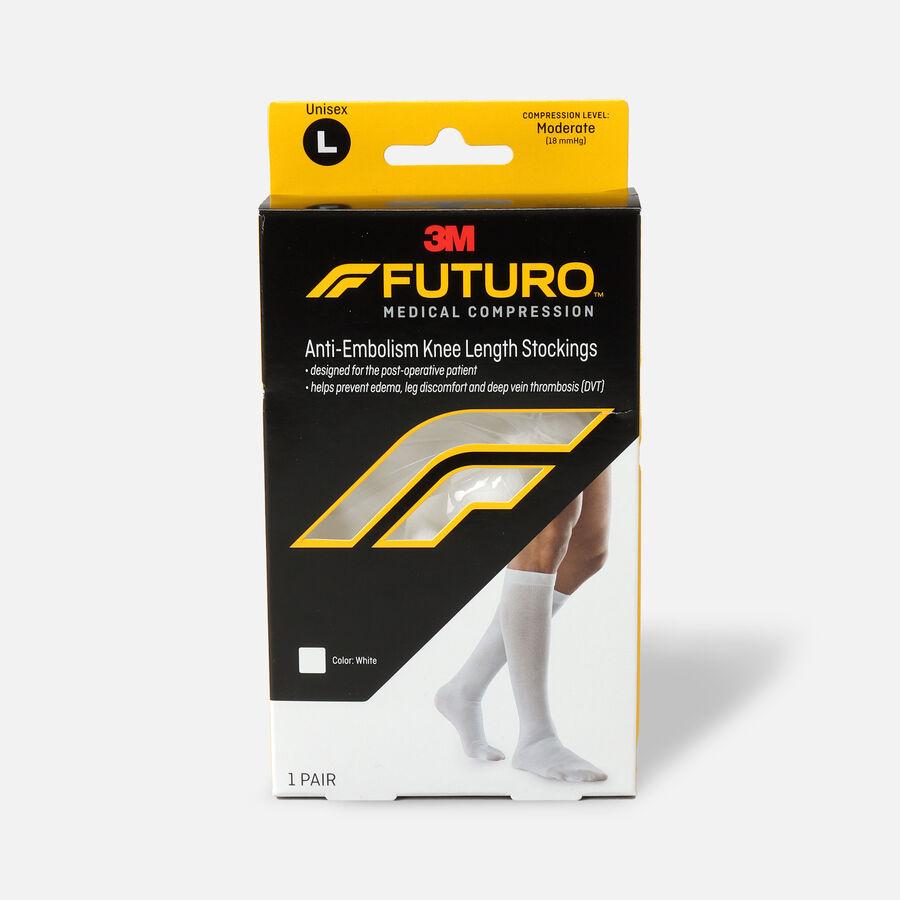 FUTURO Anti-Embolism Knee Length Stockings, , large image number 1