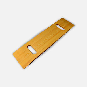 """Mabis DMI Wood Transfer Board with Two Cut-Outs 8"""" x 30"""", Weight Capacity 440 lb"""