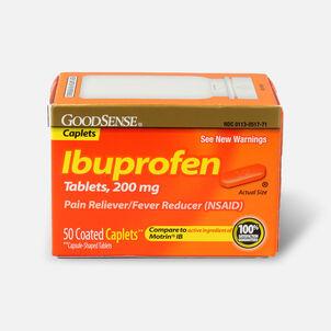 GoodSense® Ibuprofen IB Coated Caplets, 200 mg 50 ct