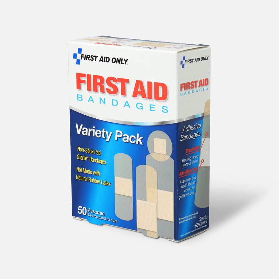 First Aid Only Sheer Strips Bandages, Assorted Sizes - 50ct, , large image number 2