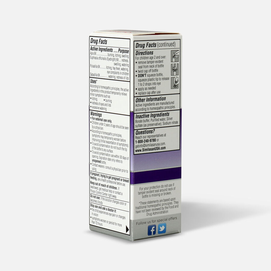 Similasan Kids Allergy Eye Relief, 0.33 fl. oz., , large image number 3