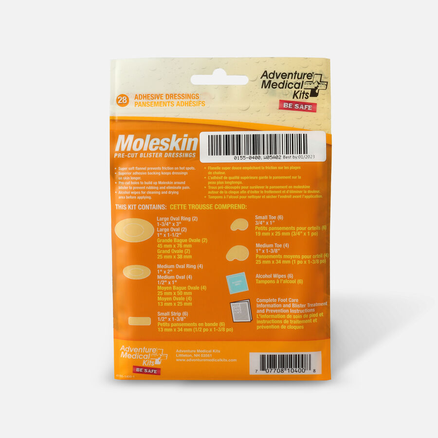 Adventure Medical Kits Moleskin, 22 ea, , large image number 1