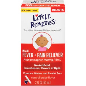 Little Fevers Infant Fever & Pain Reliever, 2 oz