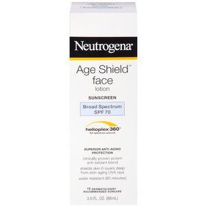 Neutrogena Age Shield Face Sunscreen with SPF 70, 3 oz
