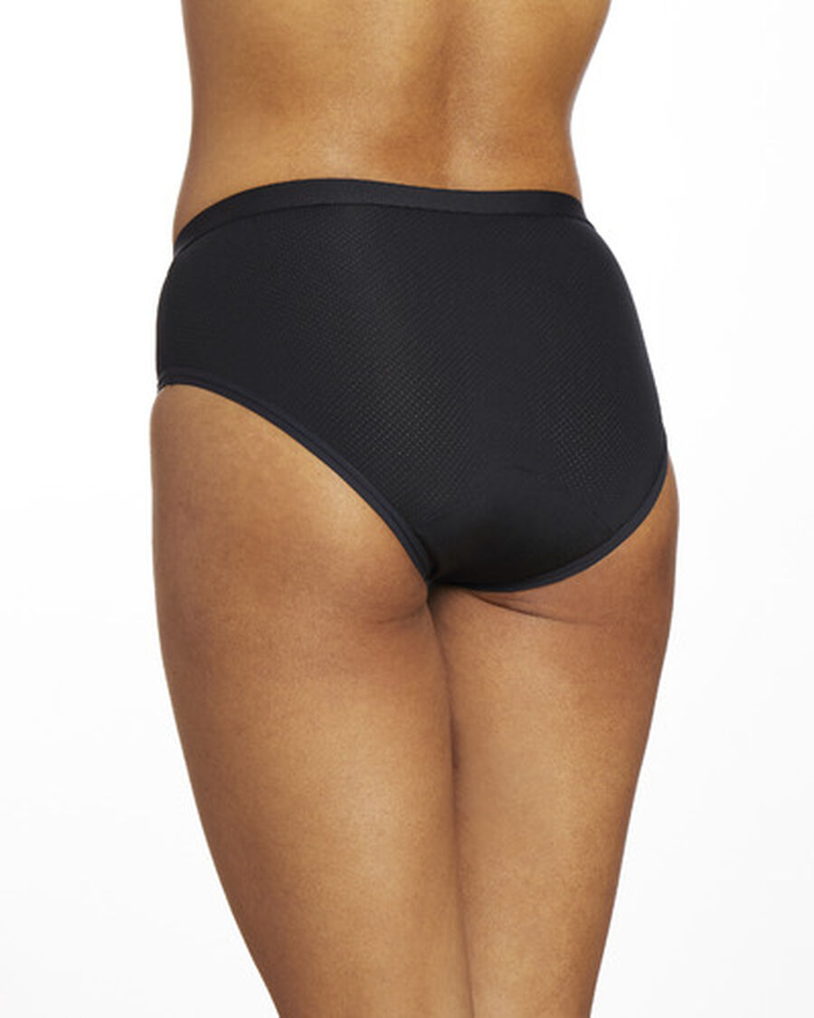 Thinx Period Proof Air Hiphugger, Black, , large image number 5