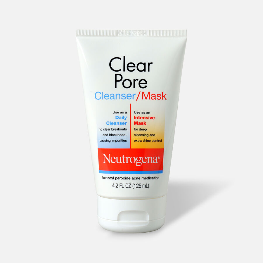 Neutrogena Clear Pore Cleanser / Mask, 4.2oz, , large image number 0