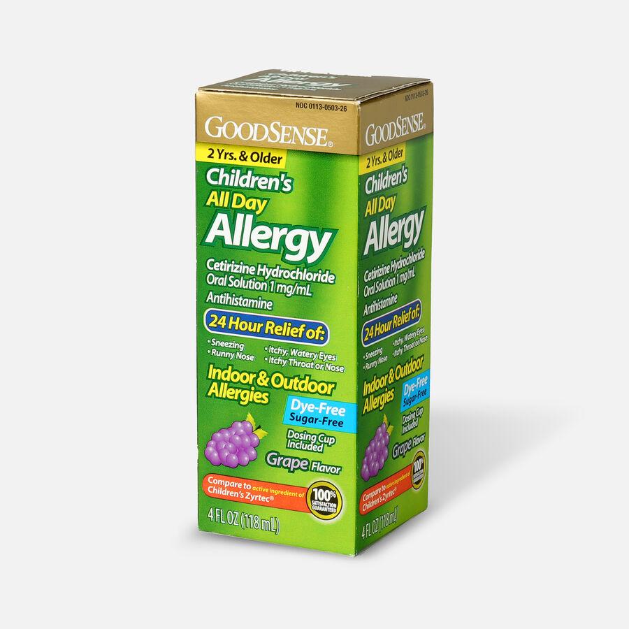 GoodSense® Child All Day Allergy Cetirizine 24-Hr Grape Flavor 4 fl oz , , large image number 2