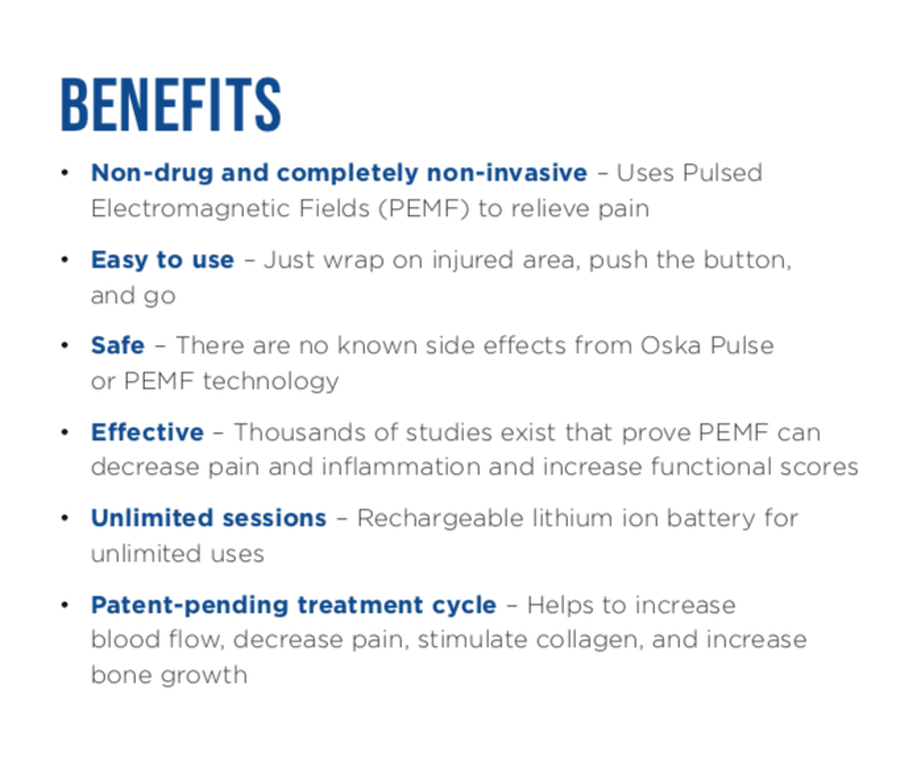 Oska Pulse Pain Relief Device, , large image number 5