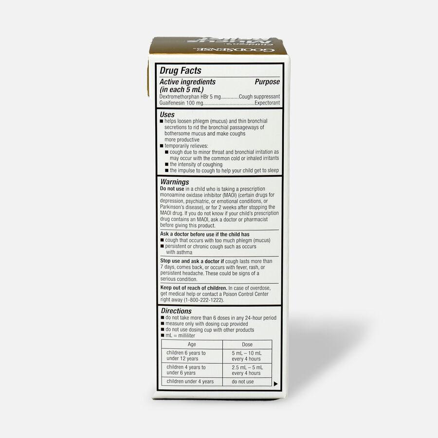 GoodSense® Children's Mucus Relief Cough Cherry Flavor, 4 fl oz, , large image number 1