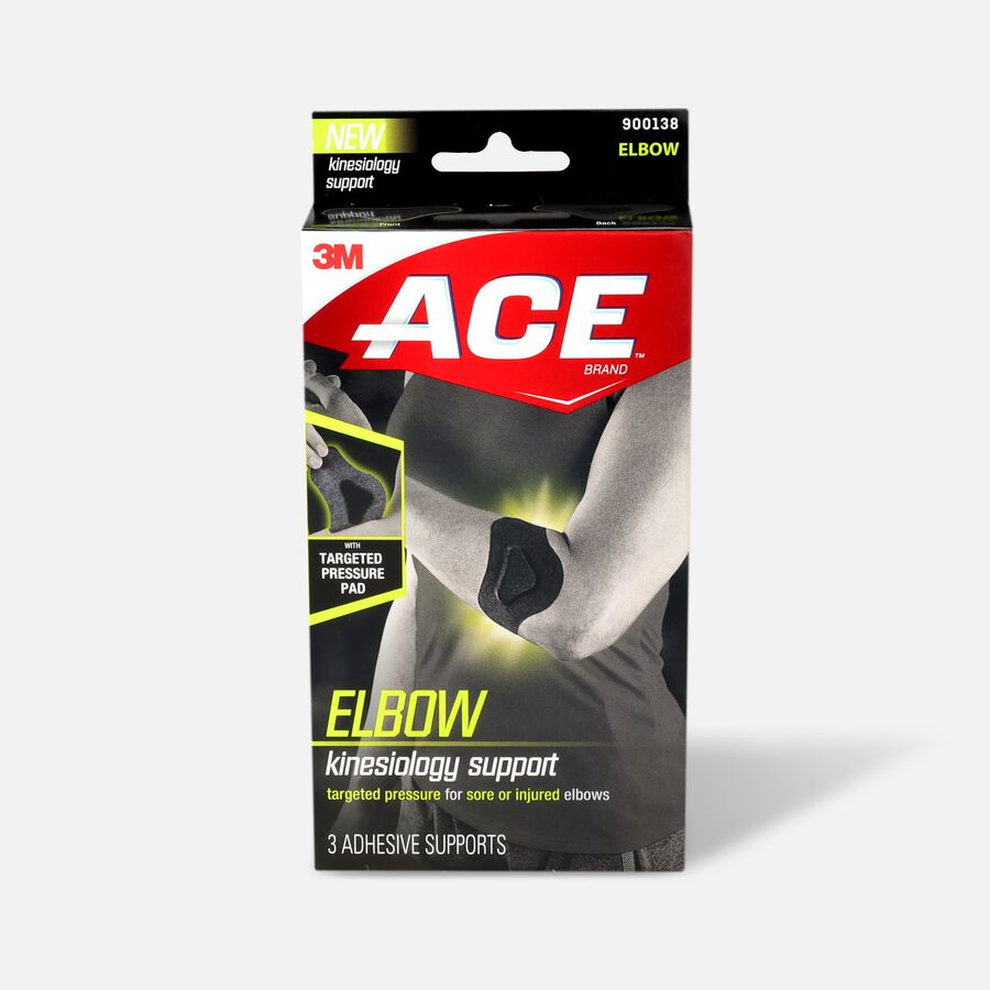 Ace Elbow Kinesiology Support, , large image number 0