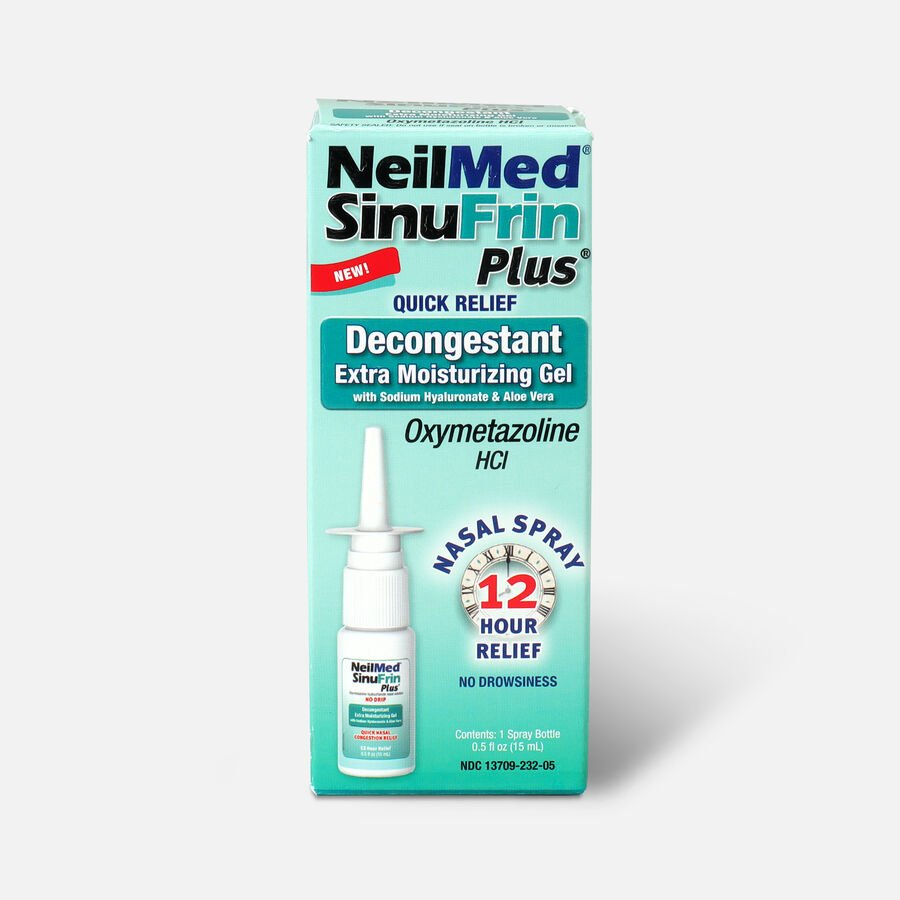 NeilMed SinuFrin Plus™ Decongestant Spray and Moisturizing Gel , , large image number 0