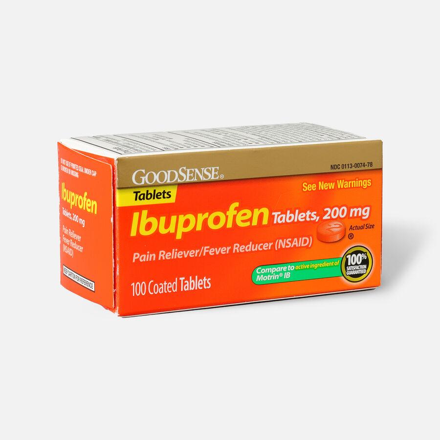 GoodSense® Ibuprofen IB 200 mg Coated Tablets, , large image number 6