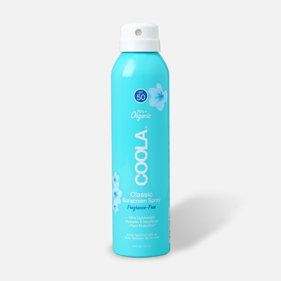 Coola Classic Body Organic Sunscreen Spray SPF 50, 6oz., , large image number 0