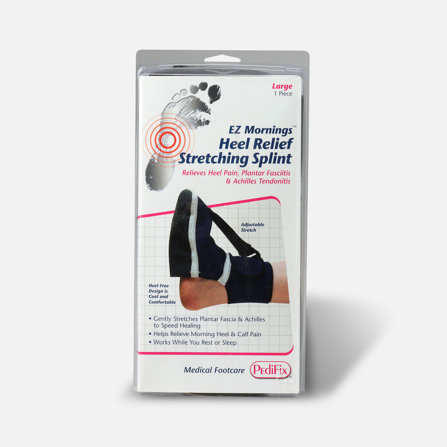 Pedifix EZ Mornings Heel Relief Stretching Splint, Large, , large image number 0