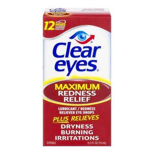 Clear Eyes Maximum Itchy Eye Relief, .5 oz