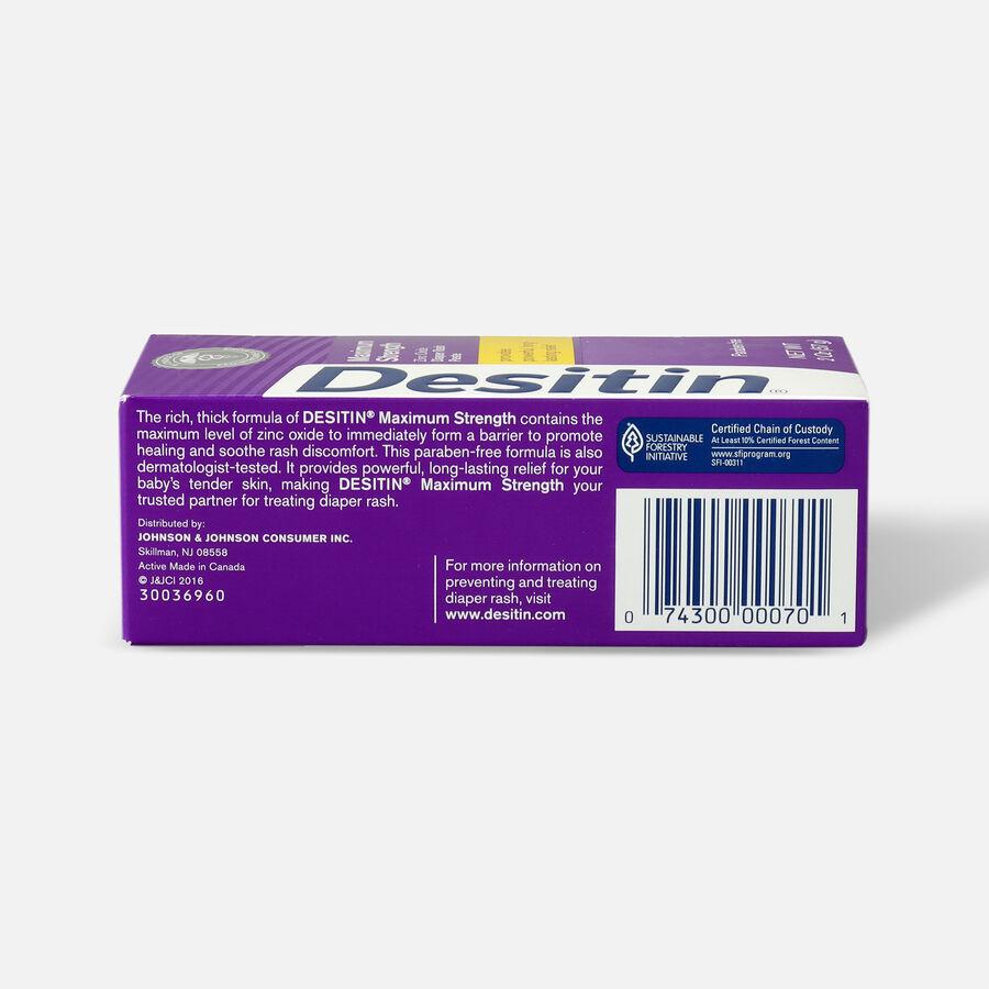 Desitin Maximum Strength Zinc Oxide Diaper Rash Paste, , large image number 7