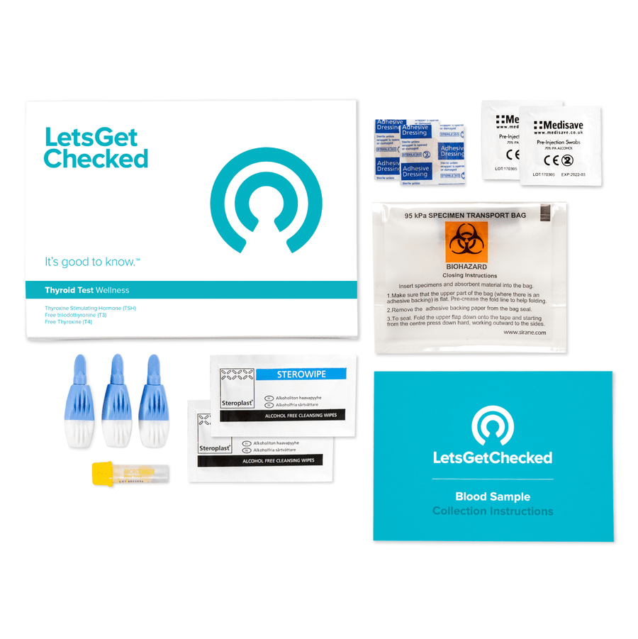 LetsGetChecked Home Thyroid Test, , large image number 3