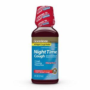 GoodSense® Night Time Cough, Cherry 8 oz