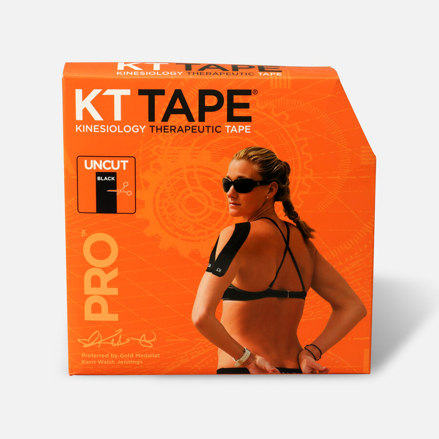 KT Tape Pro Jumbo Black Tape, Uncut, 125 feet, , large image number 0