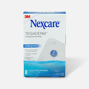 Nexcare Tegaderm Transparent Dressing, 8 ea