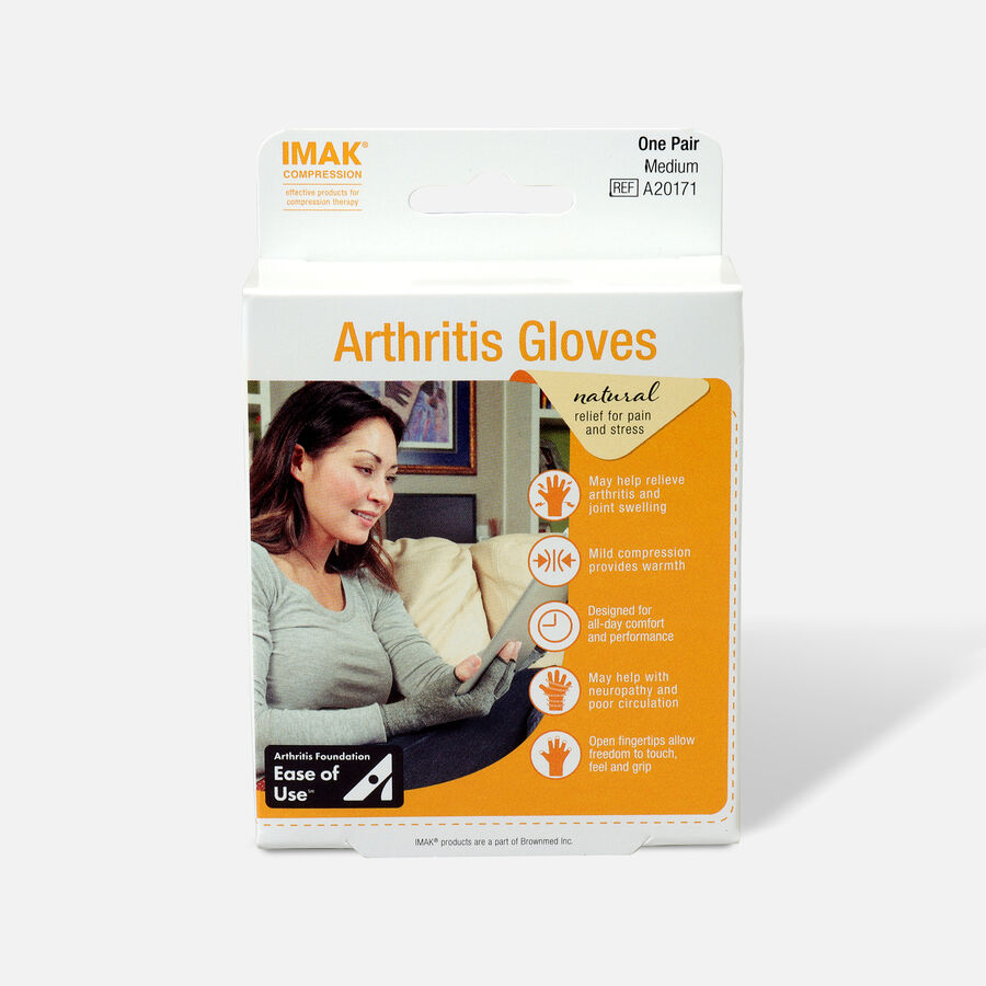 IMAK Arthritis Gloves, 1 Pair, , large image number 0