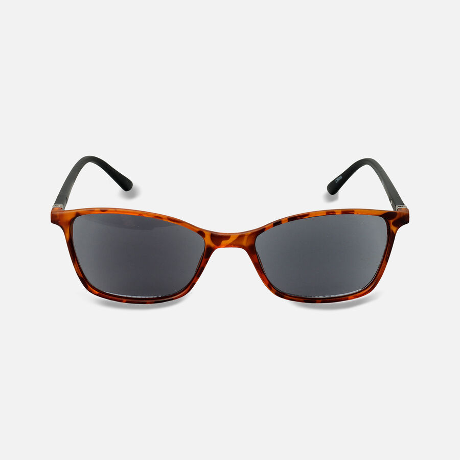Sunglass Reader with Smoke Tint, Matte Demi, , large image number 2