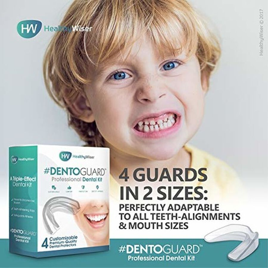 HealthyWiser DentoGuard Mouth Guard - 4ct, , large image number 4
