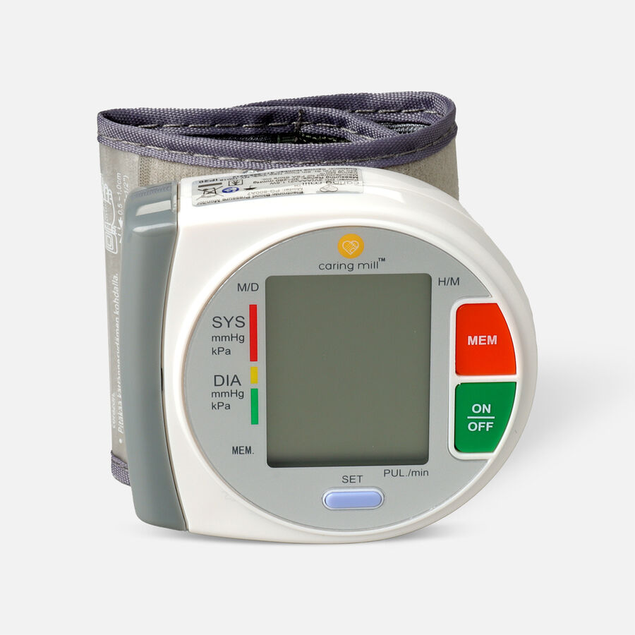 Caring Mill® Circular Wrist Blood Pressure Monitor, , large image number 2