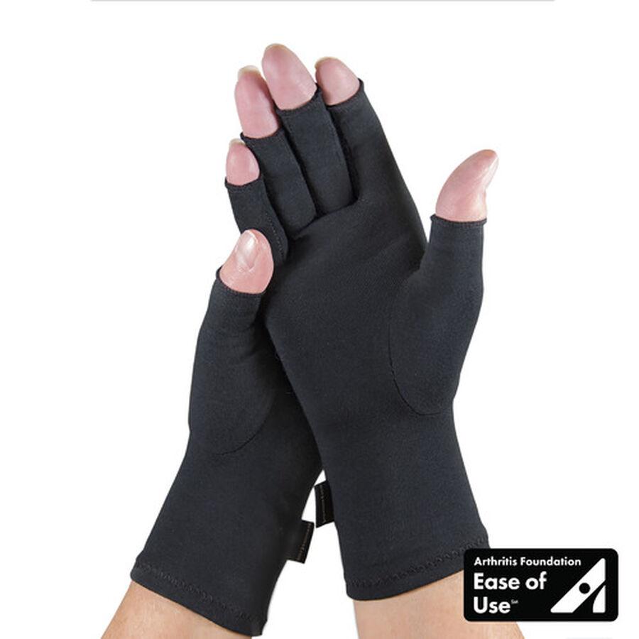 IMAK Compression Arthritis Gloves, Black, , large image number 6