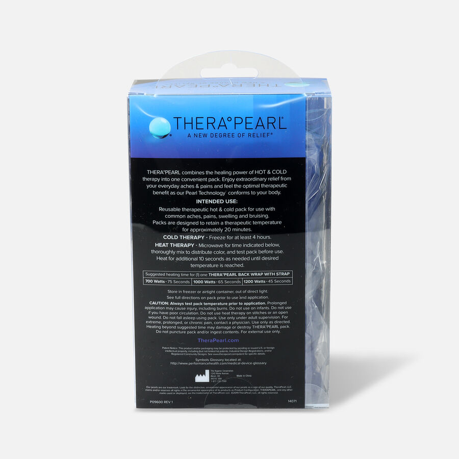 """TheraPearl Hot and Cold Back Wrap, 17"""" x 6.75"""", , large image number 2"""