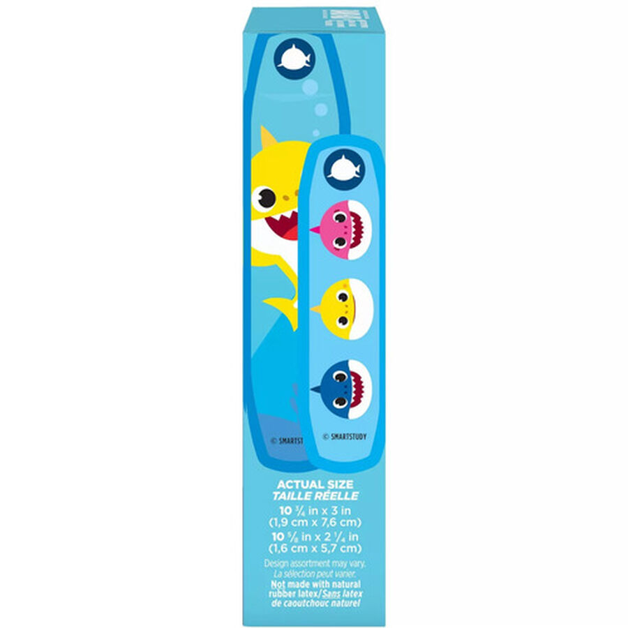 Band-Aid Baby Shark Assorted Bandages, 20ct., , large image number 1