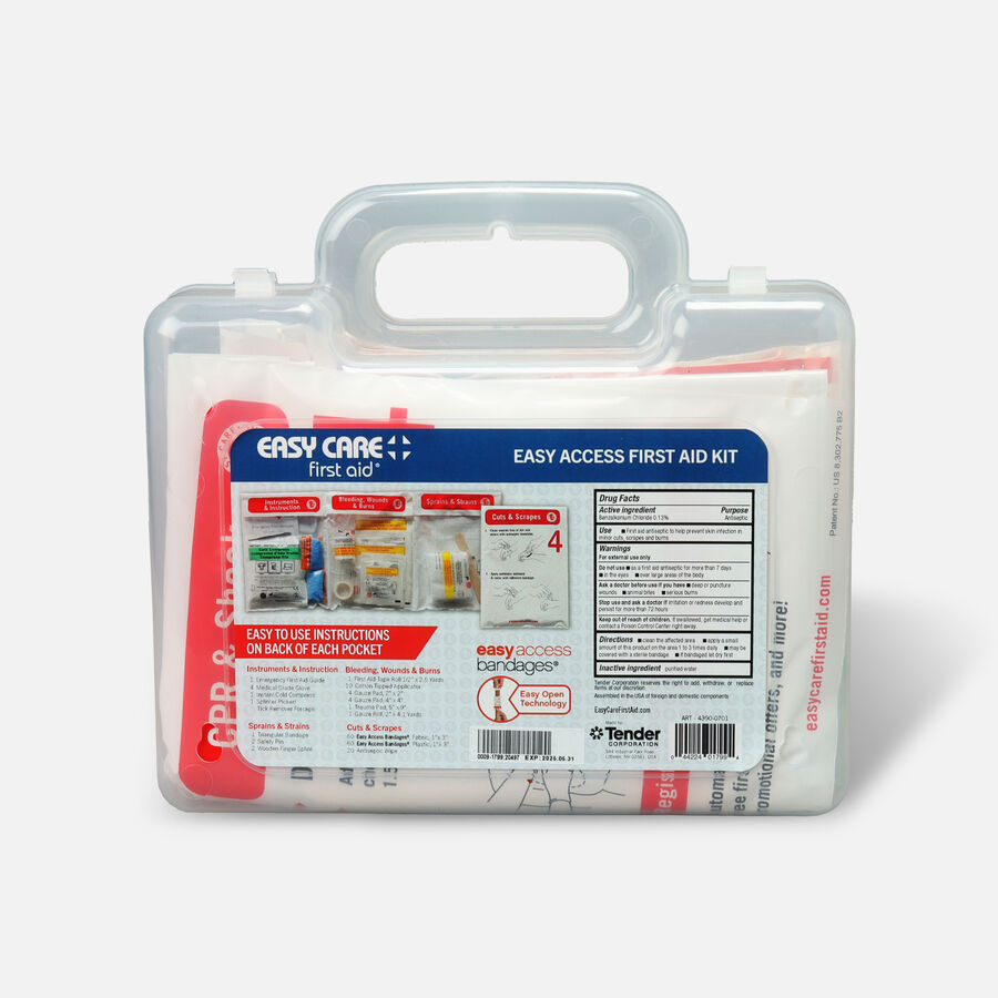 Easy Care Easy Access First Aid Kit, 173 pcs, , large image number 2