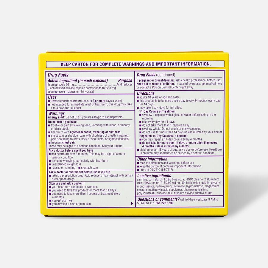 Nexium 24HR Clear Mini Capsules, 42 ct, , large image number 1