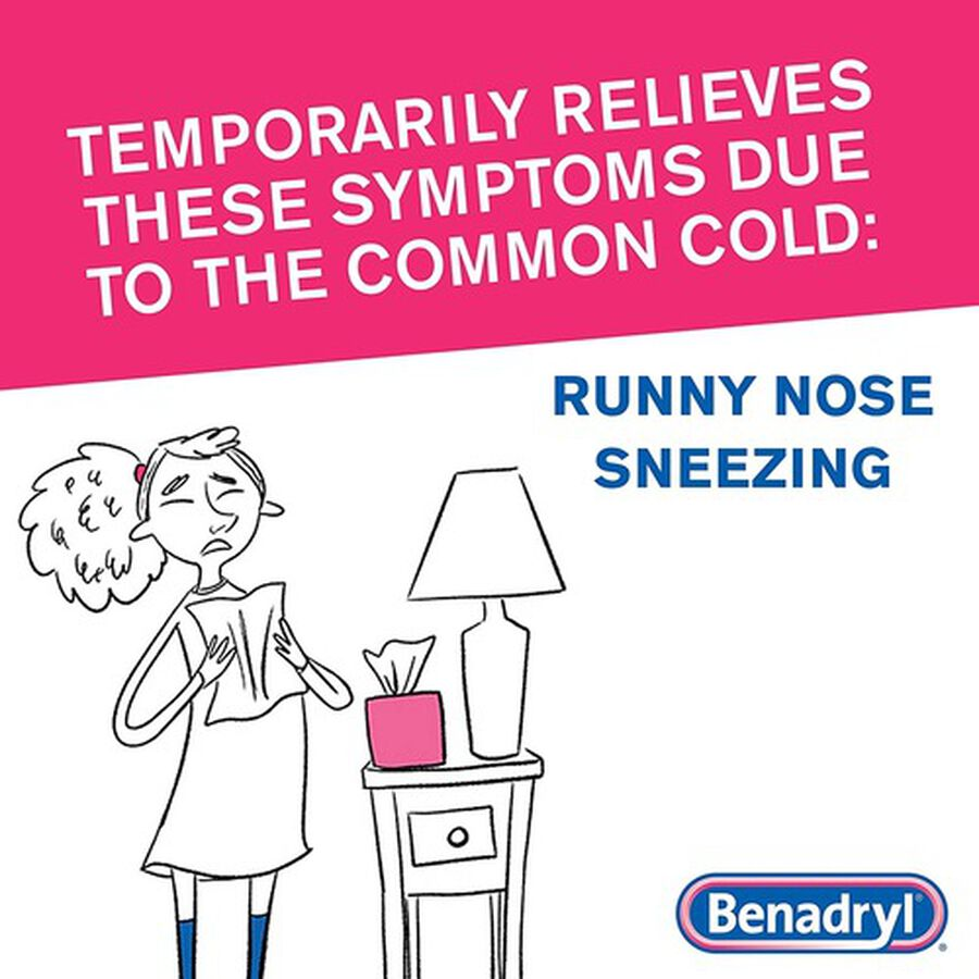 Benadryl Ultra Allergy Relief Tablets, 100 ct, , large image number 7