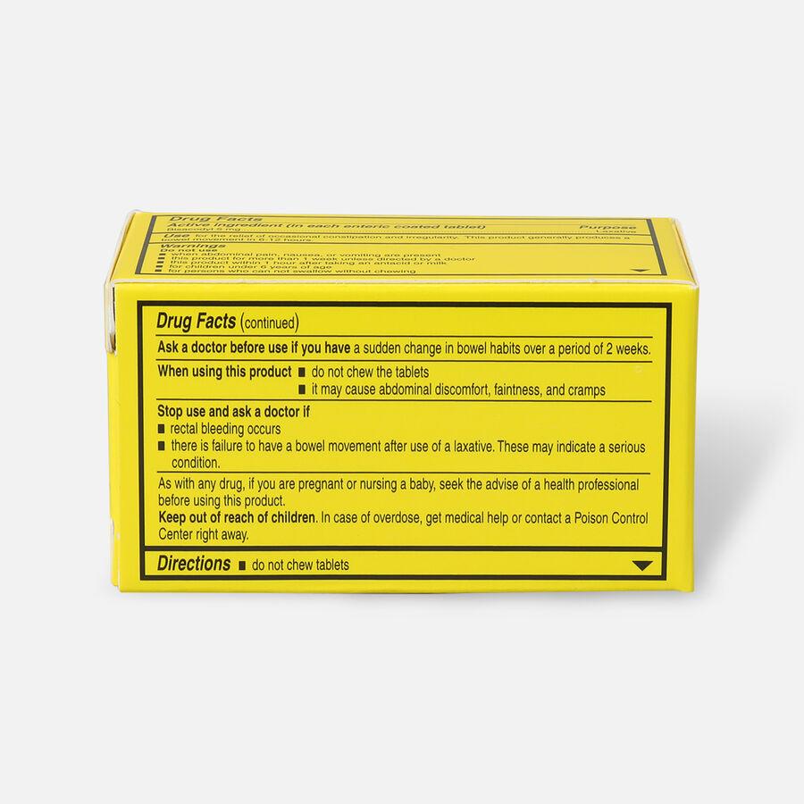 Alophen Bisacodyl Laxative Tablets, 5mg, 100 ct, , large image number 3
