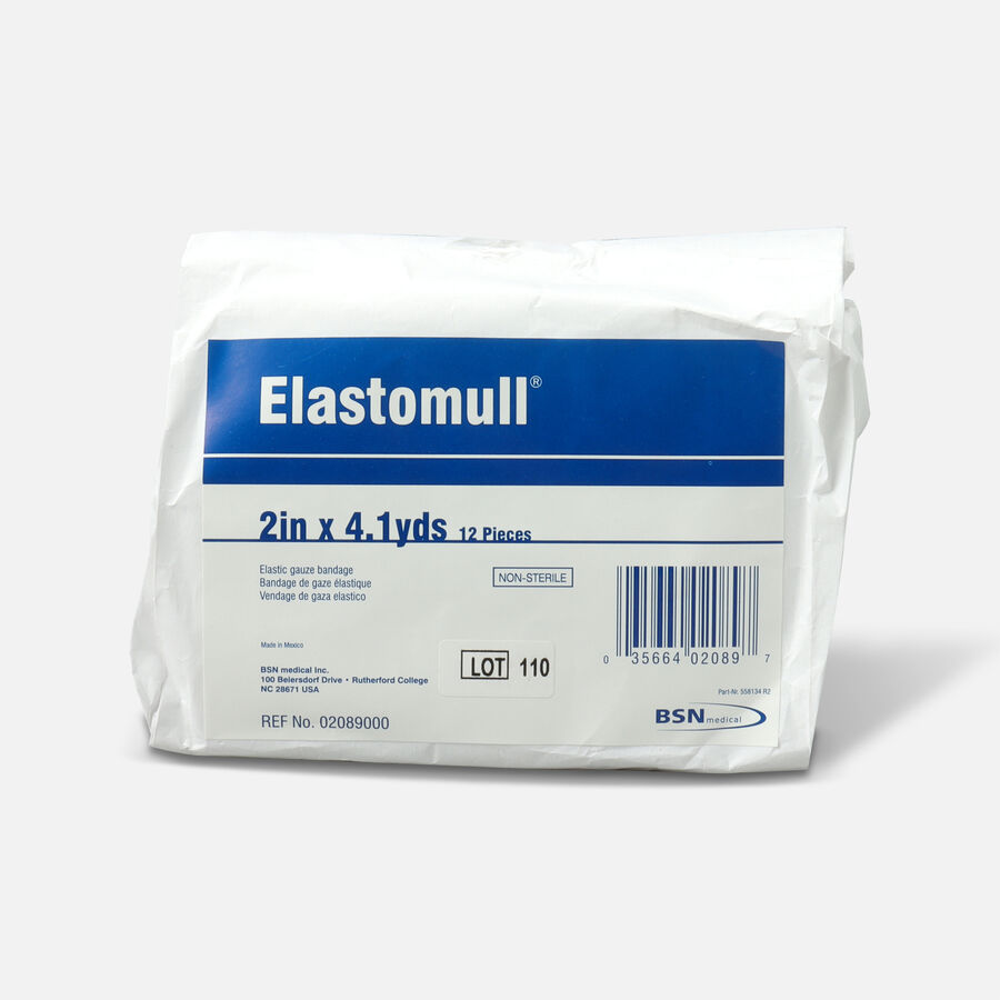 Elastomull Elastic Gauze Bandage, 2in x 4.1 yd, Non-Sterile, 12 ea, , large image number 0