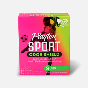 Playtex Sport Odor Shield Super Tampons