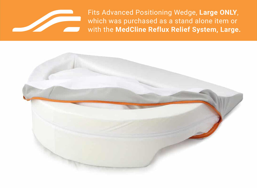 MedCline Advanced Positioning Wedge Cover, Large, , large image number 2
