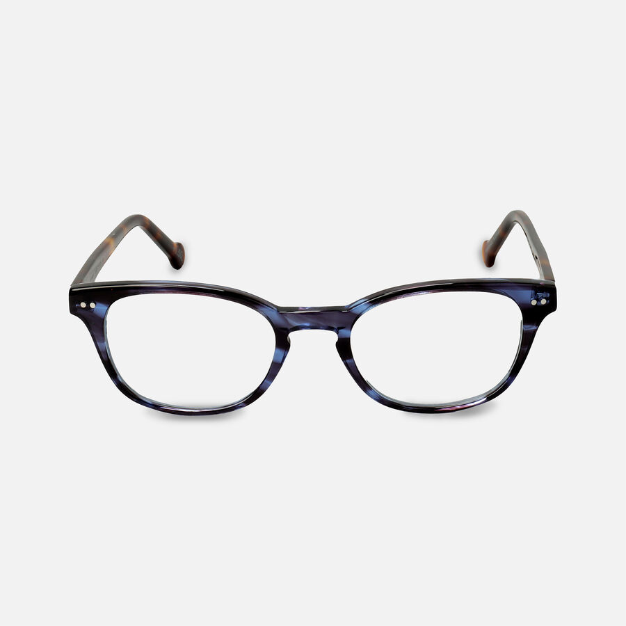 eyeOs Blue Claude Premium Reading Glasses, , large image number 0