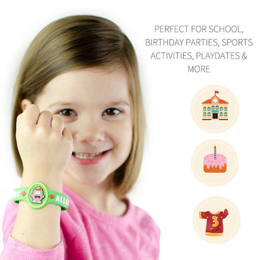 AllerMates Children's Allergy Alert Bracelet - Tree Nut, , large image number 3
