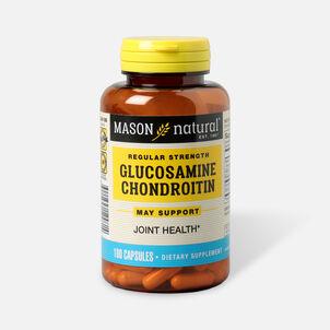 Mason Vitamins Natural Glucosamine Chondroitin Regular Strength, 100 Capsules