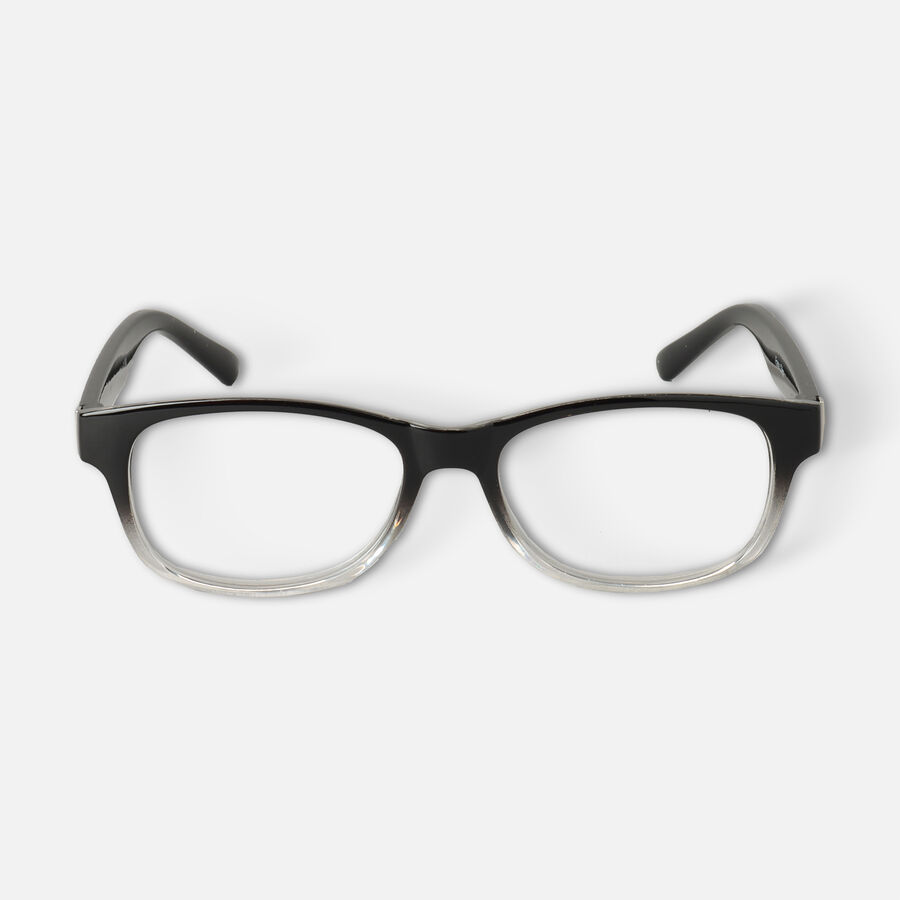 Today's Optical Frame, Black with Transparent Accents, , large image number 4