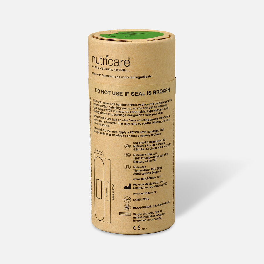 PATCH Organic Bamboo Adhesive Strip Bandages - 25ct, , large image number 5