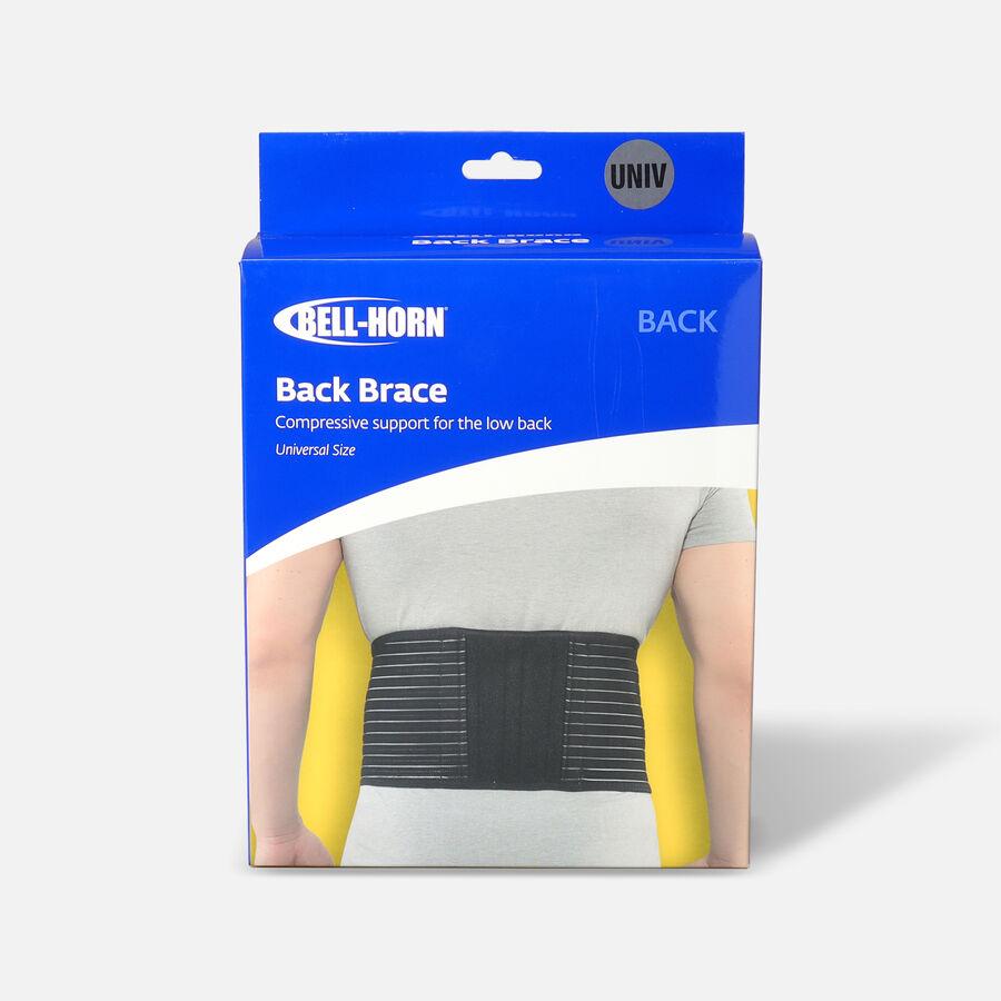 Bell-Horn Brace Yourself Adjustable Yourself Back Black Brace, , large image number 0